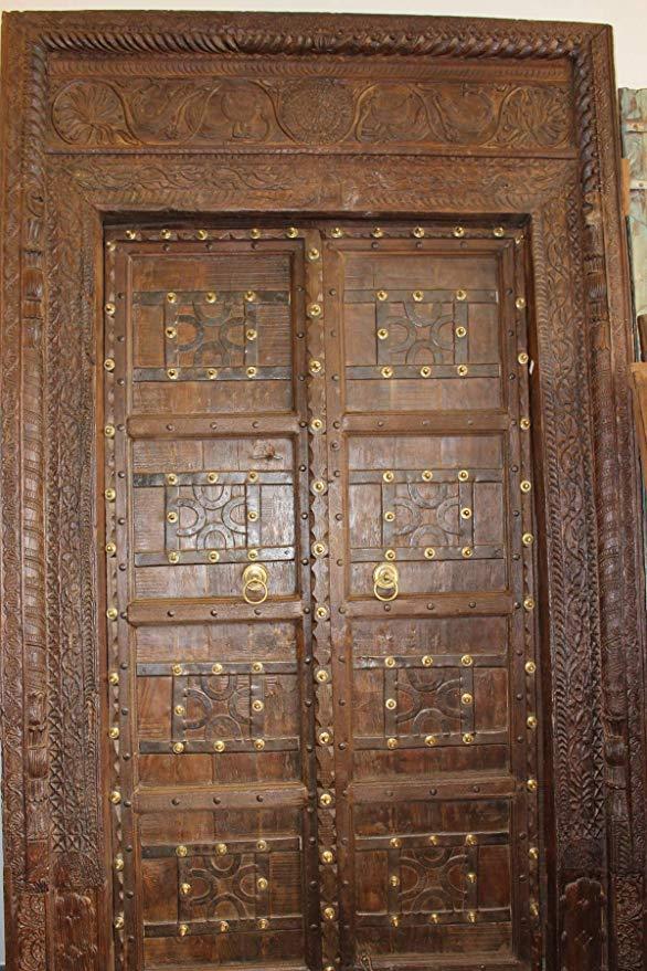 Blog Teak Wood Main Door Design In India: Traditional Indian Door Design With 100% Natural Teak